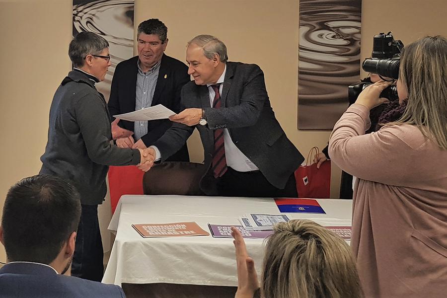 UNIATRAMC Galicia y la Diputación de Lugo abren el relevo generacional al  colectivo de redeiras