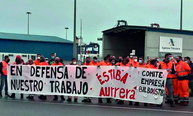 El Comité de Bilboestiba denuncia el despido de 100 eventuales en el Puerto de Bilbao